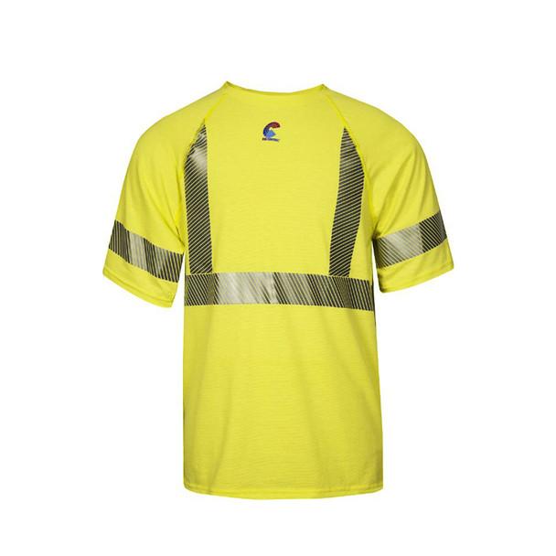 NSA FR Class 2 Hi Vis Moisture Wicking Made in USA T-Shirt BSTJTRC2
