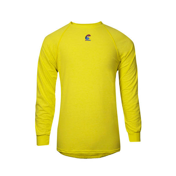 NSA FR Non-ANSI Hi Vis Moisture Wicking Long Sleeve T-Shirt BSTJTRLS