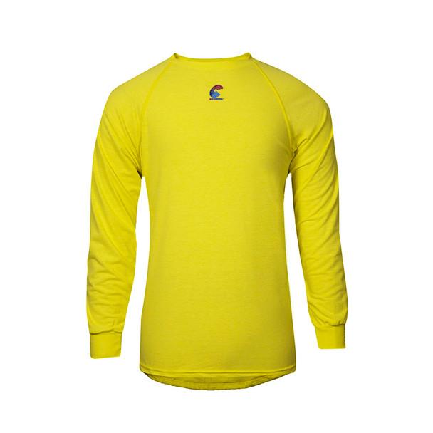 NSA FR Non-ANSI Hi Vis Moisture Wicking Made in USA Long Sleeve T-Shirt BSTJTRLS