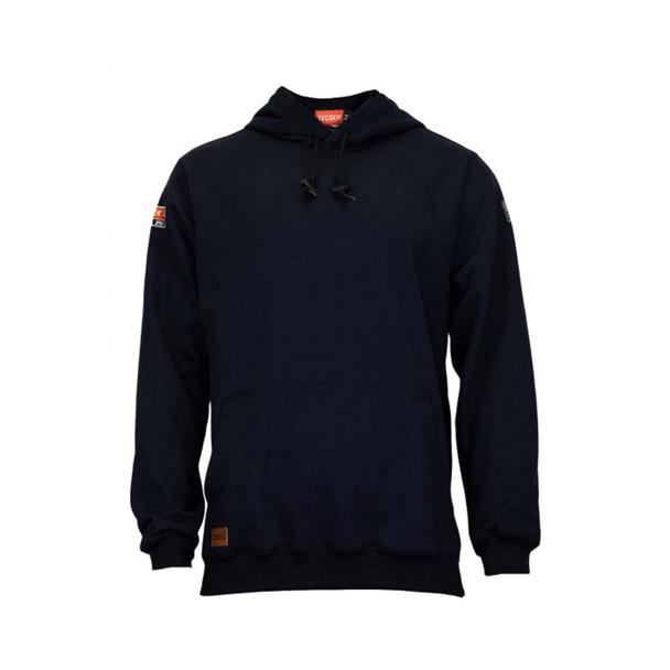 TECGEN FR Pullover Navy Made in USA Hoodie SWSI2 Front