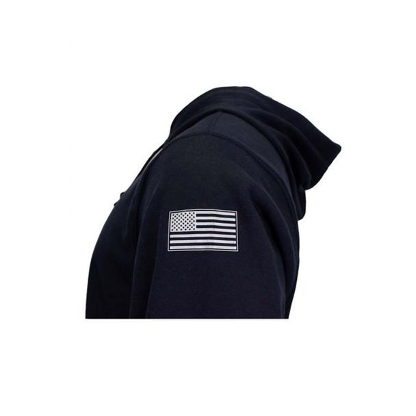 TECGEN FR Pullover Navy Hoodie SWSI2 Flag