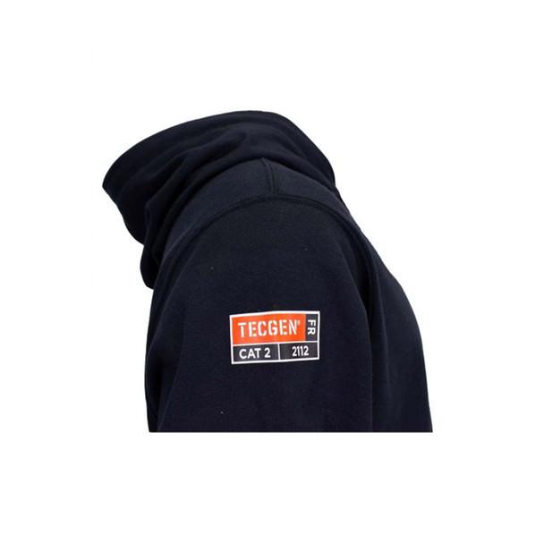TECGEN FR Pullover Navy Hoodie SWSI2 Compliance