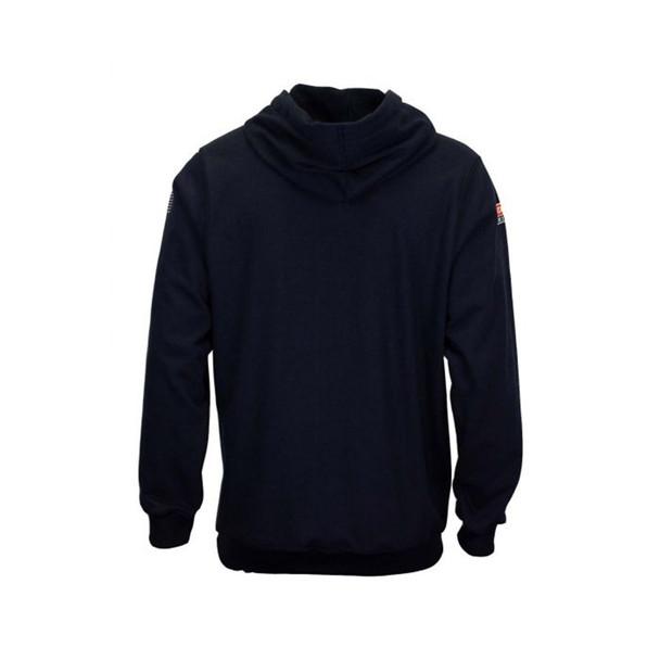 TECGEN FR Pullover Navy Hoodie SWSI2 Back