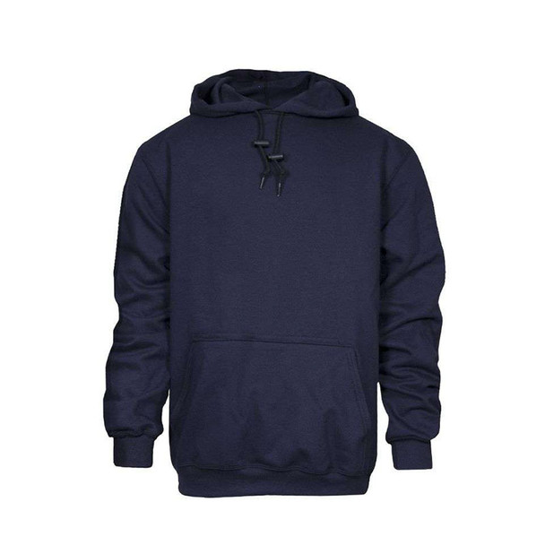 NSA FR Midweight Made in USA Hooded Navy Sweatshirt C21WT03