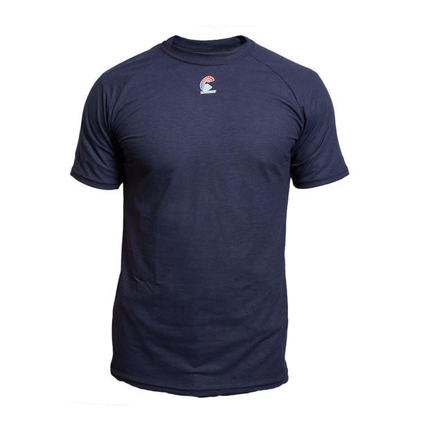 NSA FR NFPA 70E Navy Made in USA T-Shirt C52FKSR