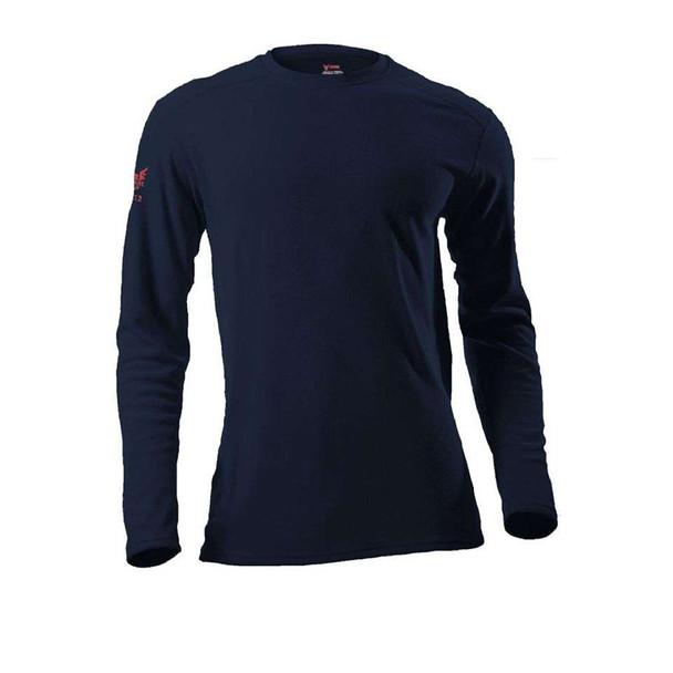 DriFire FR Moisture Wicking Made in USA Long Sleeve T-Shirt DF2-CM-265ALS Navy