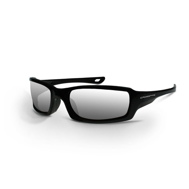 Crossfire M6A 2063 Safety Glasses - Silver Mirror Lens - Box of 12