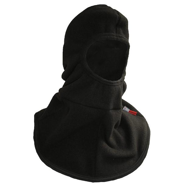 NSA FR NFPA 70E Black Nomex Made in USA Fleece Hood H81FO