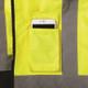 Occunomix Class 3 Hi Vis 2-in-1 Black Bottom Bomber Jacket LUX-350-JB-B Cellphone Pocket