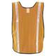 Occunomix Non ANSI Hi Vis Mesh Vest Gloss Reflective LUX-XGTM Orange Back