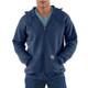 Carhartt Hooded Zipper Front Sweatshirt Midweight K122 New Navy