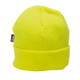 PortWest Hi Vis Insulated Lined Knit Cap B013-HV Yellow