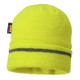 PortWest Reflective Trim Visibility Insulatex Lined Knit Hat B023-HV Yellow
