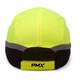 Box of 12 Pyramex Hi Vis Lime Baseball Bump Caps HP50031 Back