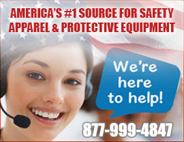 america's #1 Trusted Source for Safety Apparel and Protective Equipment