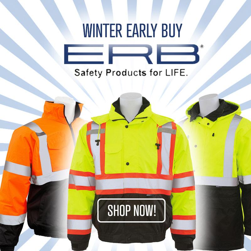 ERB Winter Early Buy Hi Vis Sale