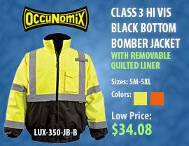 Hi Vis Bomber Jacket Sale