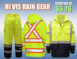 Hi vis rain gear 2019
