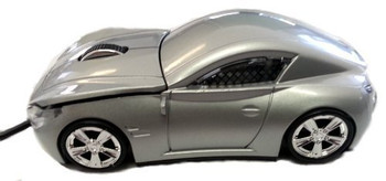 Optical Mouse USB Generation #2 Sports Car - Silver