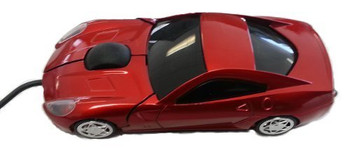 Optical Mouse USB Generation #2 Sports Car - Red
