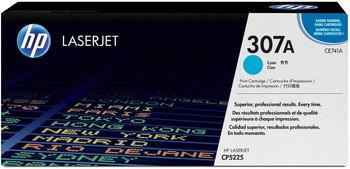 CE741A #307A Cyan Premium Generic Toner Cartridge