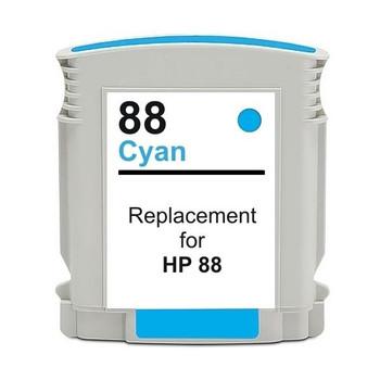 HP Compatible #88 Cyan High Capacity Remanufactured Inkjet Cartridge