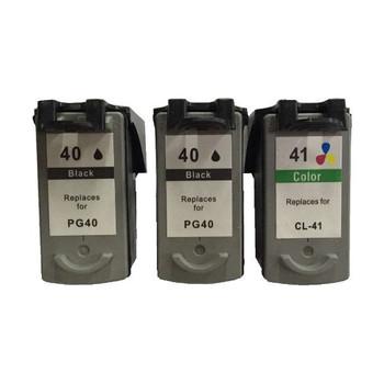 Remanufactured Value Pack (2 x PG40 Black & 1 x CL41 Colour)