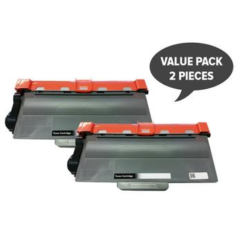 2 x TN-3340 Premium Generic Laser Cartridge