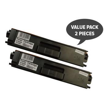 2 x TN-340 Black High Yield Generic Toner