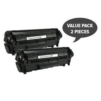 2 x FX-9 Black Premium Generic Toner