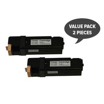 2 x 2150 Premium Generic Black Toner
