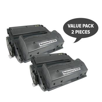 HP Compatible 2 x Q1339A HP #39A Premium Generic Toner