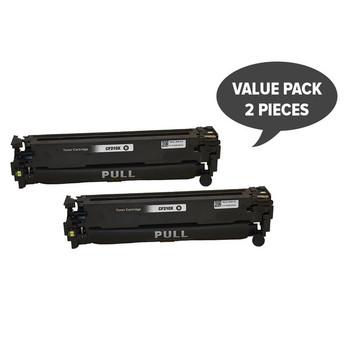 HP Compatible 2 x CF210X #131X Premium Generic Black Toner