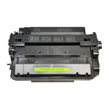 HP Compatible CE255X #55X Cart-324ii Black Compatible Laser Toner