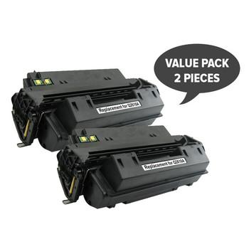 HP Compatible 2 x Q2610A Black Generic Toner Cartridge