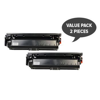 HP Compatible 2 x CE264X #646 Premium Generic Black Toner