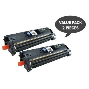 HP Compatible 2 x Q3960 C9700 C3960 EP87 CART301BK Black Toner