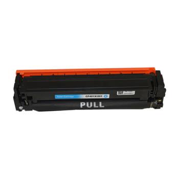HP Compatible CF401X #201X Premium Generic Cyan Toner Cartridge