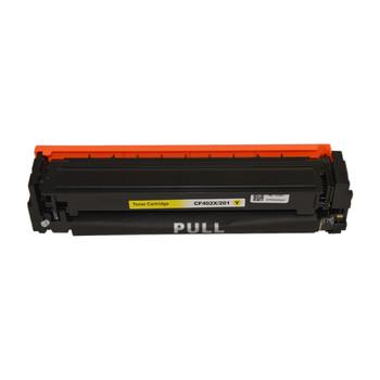 HP Compatible CF402X #201X Premium Generic Yellow Toner Cartridge