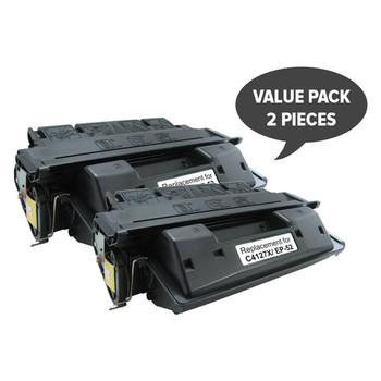 HP Compatible 2 x EP-52 C4127X #27X Premium Generic Toner