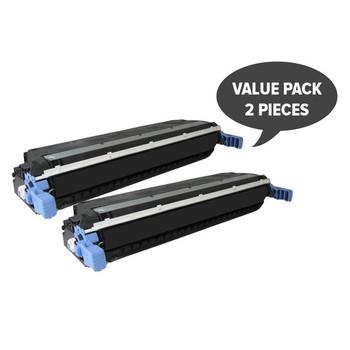 HP Compatible 2 x C9730A 5500 5550 Black Premium Generic Toner