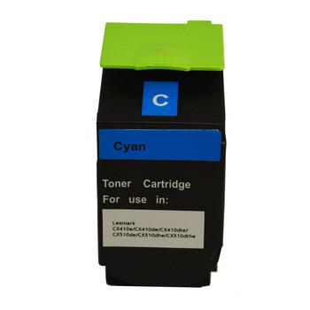 80C8HCE CX410 CX510 Cyan Premium Generic Toner