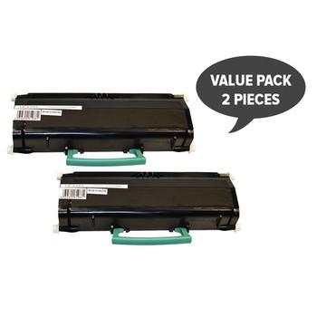 2 x E260 Black Generic Toner Cartridge