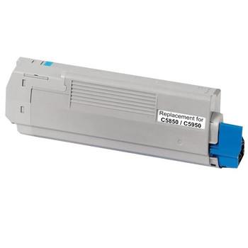 43865727 C5850 C5950 MC560 Cyan Premium Generic Toner