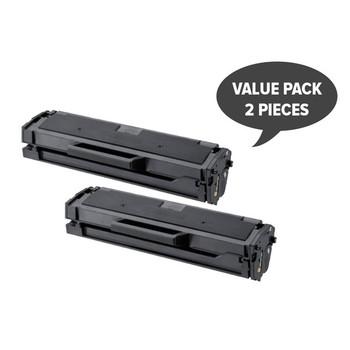 2 x MLT-D101S Black Premium Generic Toner