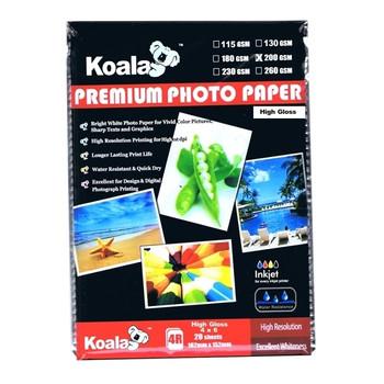 200gsm (4x6) High Gloss Photo (20 Sheets)
