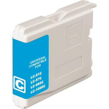 LC37 LC57 Cyan Compatible Inkjet Cartridge