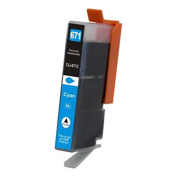 CLI-671XL Cyan Premium Compatible Inkjet Cartridge
