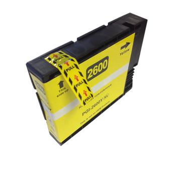 PGI-2600XL Pigment Yellow Compatible Inkjet Cartridge