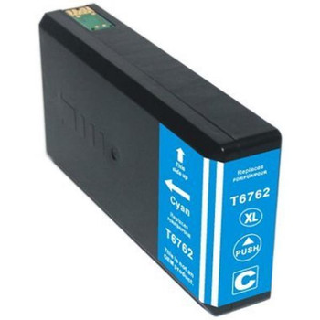 676XL (T6762) Cyan Compatible Inkjet Cartridge